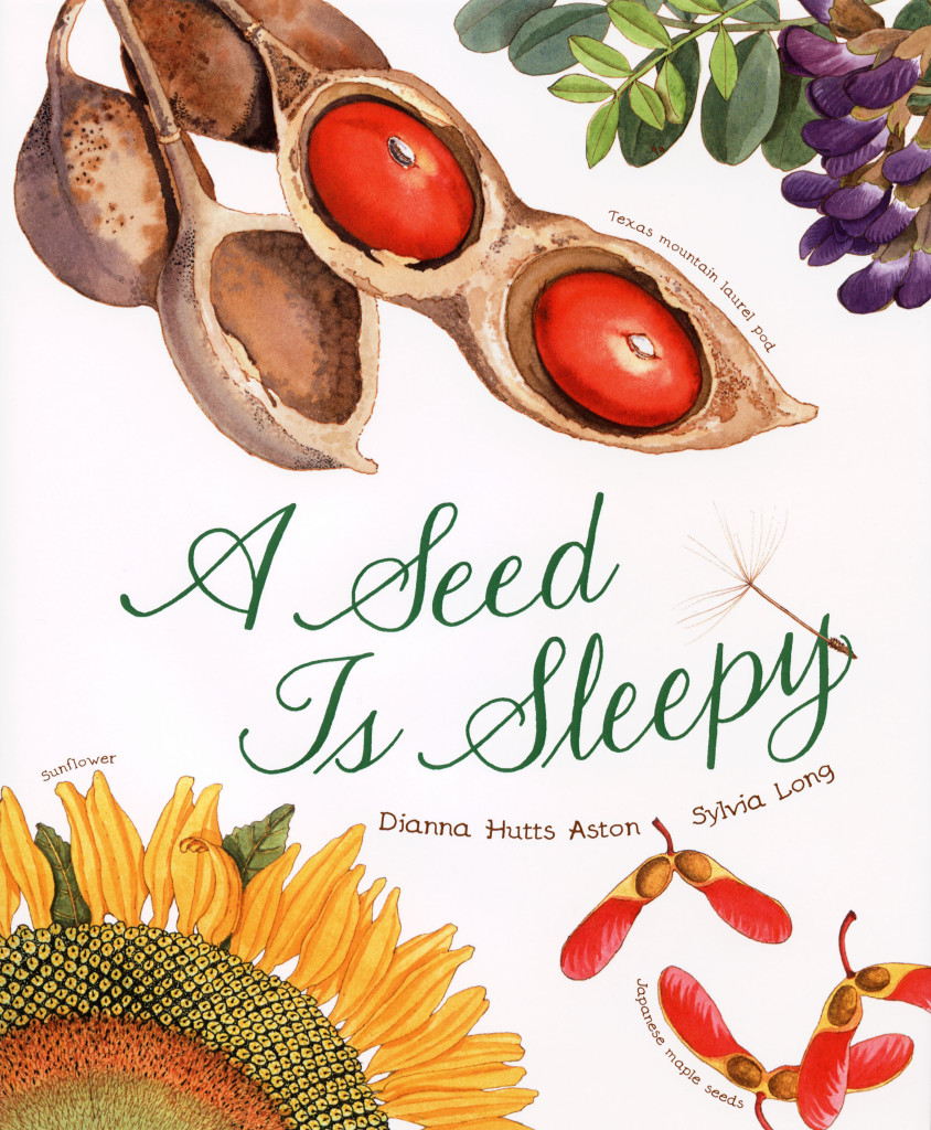 """A Seed is Sleepy"" by Dianna Hutts Aston and Sylvia Long, published by Chronicle Books"